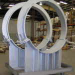 Pipe Saddles for a Process Plant in Nebraska