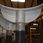 Adjustable Pipe Stands to Support Ductile Iron Pipe