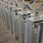 "60"" Adjustable Pipe Stands for an LNG Plant"
