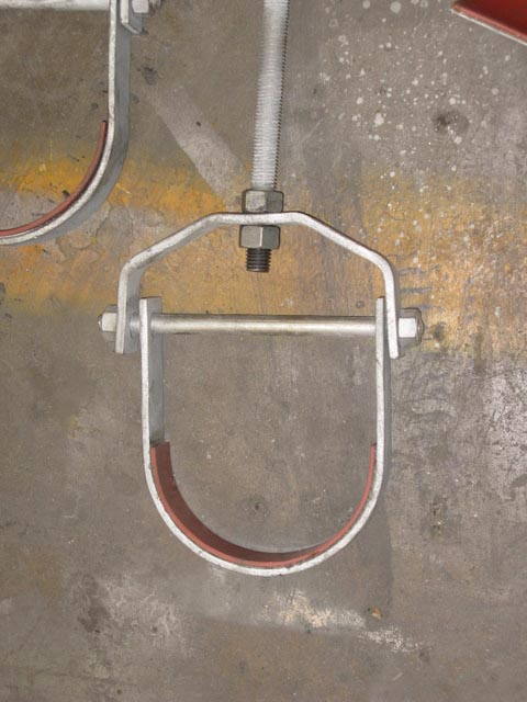 Clevis Hanger with a Rubber Liner