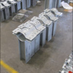 Custom designed pipe clamp guides for an lng facility in algeria