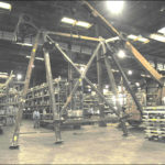 27′ x 16′ x 21′ Structural Frame for an Offshore Site