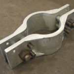 Riser clamps for a power plant in rhode island fd0000
