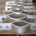 Thirty pt&p fig. 70a clamps for a power plant