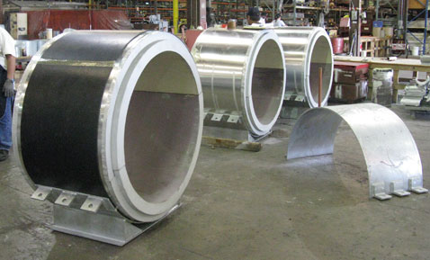 Cryogenic insulated pipe supports 4977798886 o