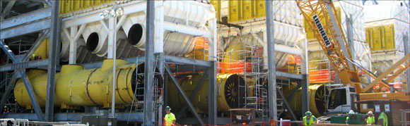 Large Dia. Expansion Joint & Duct Work Assembly Installed at a Mississippi Power Plant