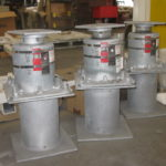 Custom Designed Variable Spring Supports with Stainless Steel Slide Plates