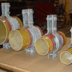 Pipe Clamps Designed for FRP Pipe