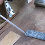 Applying Epoxy Adhesive to Non-Metallic Wear Pad (FRP Pad)