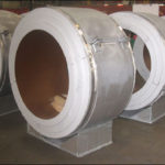 Insulated pipe supports designed for cryogenic temperatures down to 320f in an lng facility 5780816519 o