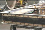 Rectangular fabric expansion joints for high temperature duct systems 5093718969 o