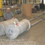 58,000 lb. Load Variable Spring Assemblies for a Power Plant