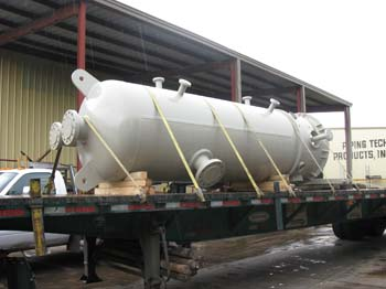 "48"" Pressure Vessel (Process Feed Tank) (96"" T-T, 15 PSIG AT 85°F)"