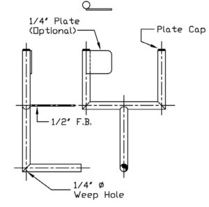 Welded Instrument Support Configuration