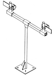 Adjustable instrument stand