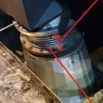 Compensator between tc and air cooler