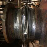 Damaaged bellows