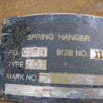 Corrosion of Trapese Type-G Spring Hanger Assembly (non-PT&P supports)