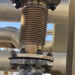 Steel bellows flex joint