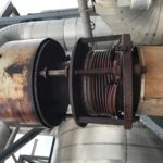 Cracked expansion joint bellows