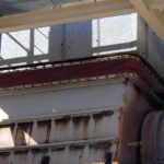 Damaged duct fabric expansion joint