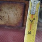 Damaged duct fabric expansion joint 6