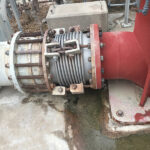 Failed expansion joint