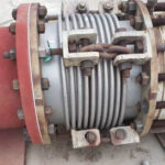 Failed rusted expansion joint