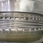 Failed single flanged expansion joint 1
