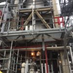 Hinged expansion joint maintenance