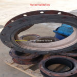 Inner Sleeve Failure of Single Expansion Joint