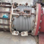 Retired rusted expansion joint