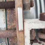 Rusted expansion joint