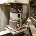 Rusted support