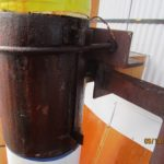 Rusted u bolt clamp 1
