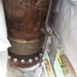 Rusted universal expansion joint 2