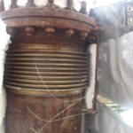 Rusted universal expansion joint bellows