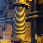 Single expansion joint exhaust engine replacement