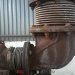 Corroded expansion joint bellow 3