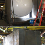"108"" Dia. Storage Tank and Containment Tank Designed for a Chemical Plant in Texas"