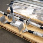 Fig. 46 Adjustable Pipe Saddle Supports with FRP Wear Pads