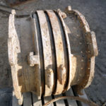 Corroded Single Expansion Joint From Water Cooling Line