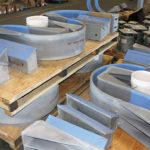 "Hold-Down Pipe Clamps Designed for a 36"" Diameter Natural Gas Pipeline"