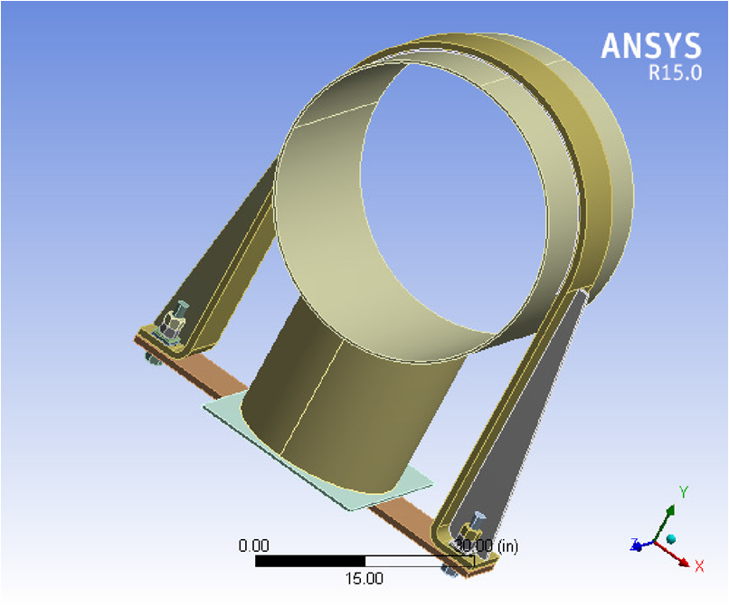 AIV Hold-Down ANSYS