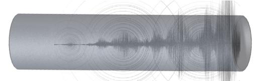 Piping vibration graphic
