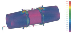 FEA on Universal Expansion Joint