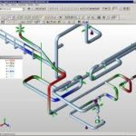 Reverse engineering pipe stress model