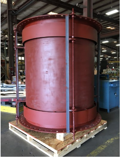 Refurbished Refractory-lined Universal Expansion Joint with Cover