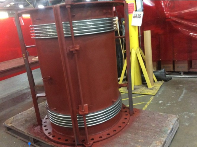 Refurbished Refractory-lined Universal Expansion Joint