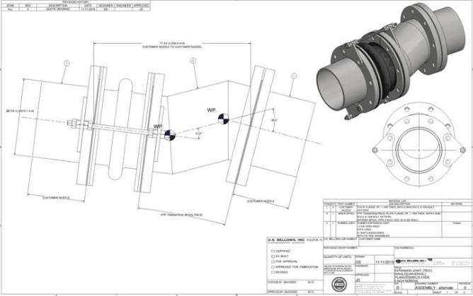 Pipe spool design